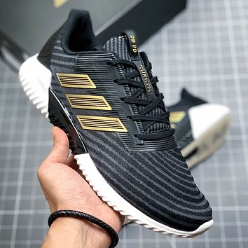 Adidas Climacool Fashion New Mesh Sports Leisure Running Shoes Black