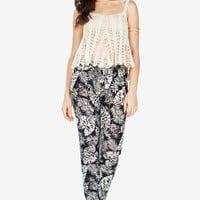 Tropical Night Slouchy Pants