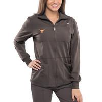 Texas Longhorns New Balance Women's Stat Full Zip Performance Jacket – Charcoal