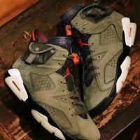 Travis Scott x Air Jordan 6 AJ6TS 3M Sneaker CN1084-200