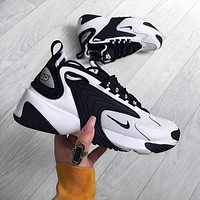 Nike Zoom 2K Fashion Women Men Casual White Rainbow Retro Daddy Shoes Jogging Sport Sneakers