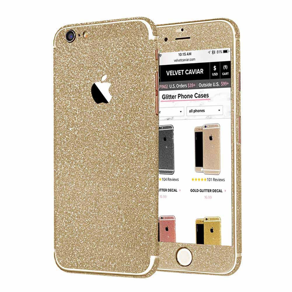 Image of GOLD GLITTER DECAL