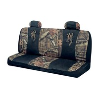 Browning Buckmark Mossy Oak Camo Bench Seat Cover
