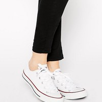 Converse Chuck Taylor All Star core white ox sneakers at asos.com