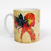 a song of ice and fire dragon mother Game Of Thrones  mugs