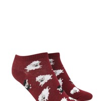 Sheep Pattern Ankle Socks