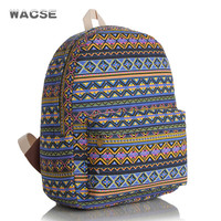 Casual Canvas Stylish Fashion Korean Vintage Backpack = 4887839876