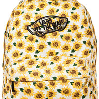 The Realm Backpack in Sunflower True White
