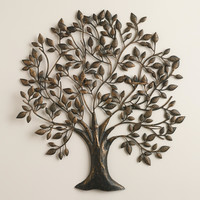 Tree of Life Sconce Candleholder - World Market