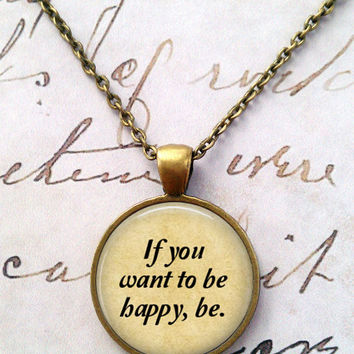 Leo Tolstoy Necklace, War and Peace, Anna Karenina, Library, Tolstoi, Literary, Victorian, Steampunk, Quotes T1155