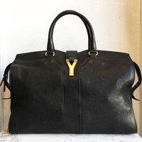 DCCK3DS YSL Black Cabas Large Handbags