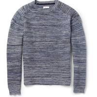 Folk Tuck Knitted Cotton Sweater | MR PORTER