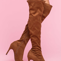 Beverly-15 Flaunt It Over the Knee Boot