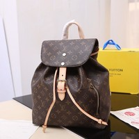 Kuyou Lv Louis Vuitton Gb29624 41578 Sperone Damier Aur Backpack