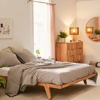 Petra Platform Bed Frame | Urban Outfitters
