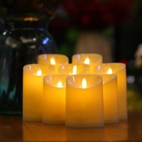 LED Light Party Candles Flame-less Candles Home Decor Outdoor