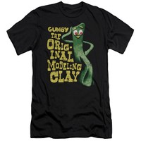 Gumby - So Punny Short Sleeve Adult 30/1 Shirt Officially Licensed T-Shirt