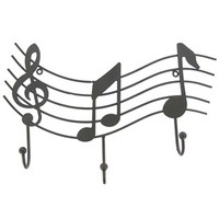 Metal Music Emblem with 3-Hooks | Shop Hobby Lobby