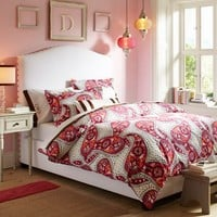 Raleigh Camelback Upholstered Bed + Headboard