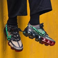 CPFM Cactus Plant Flea Market x Nike Air VaporMax 2019 Green Mist Velvet Brown - Best Deal Online