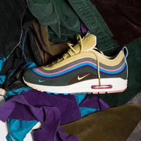 Best Online Sale Fashion Nike Air Max 97 / 1 Sean Wotherspoon AJ4219-400  VF SW Hybrid Sport Running Shoes