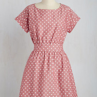 Proudly Polka-Dotted Dress