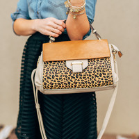 In the Wild Leopard Handbag