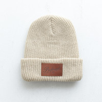 NY Club Beanie in Natural