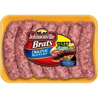 Johnsonville Original Brats 3.08lb Party Pack tray (102496) - Walmart.com