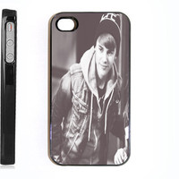 Apple iPhone 4 4s 4G Vintage Justin Bieber Swag Winter Time Design  Case Faceplate Mobile Phone Accessory
