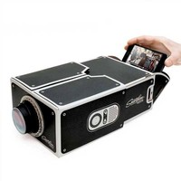 Mobile DIY Smartphone Projector