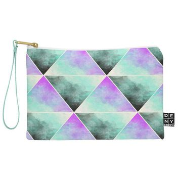 Allyson Johnson Painted Triangles Pouch