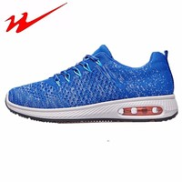 Men Running Shoes Breathable Air Cushioning Outdoor Sport Sneakers Shoes scrape sportive For Men
