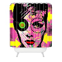 Amy Smith Pink 1 Shower Curtain