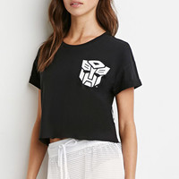 Transformers Graphic Boxy Tee