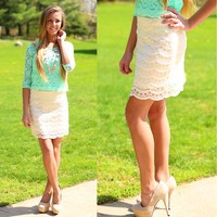 Pretty In The City Skirt