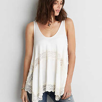 AEO Soft & Sexy Jegging Tank, Cream