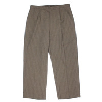 Alfred Dunner Womens Plus Flat Front Pull On Dress Pants