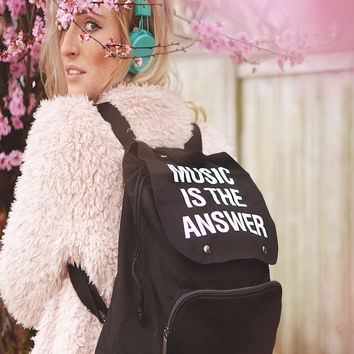 Jac Vanek Music Is The Answer Backpack