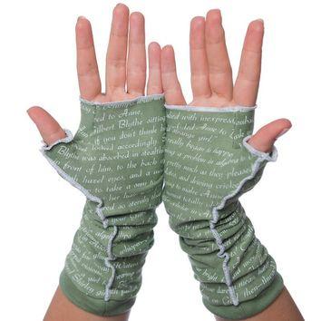 Anne of Green Gables Writing Gloves