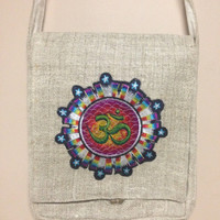 Ohm Hemp Bags Hippie Shoulder Purses