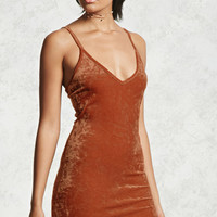 Crushed Velvet Bodycon Dress