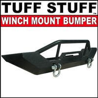 Tuff Stuff Front Winch Mount Bumper w/ D Rings- 97-06 Jeep