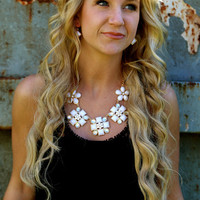 Lady in White {Necklace}