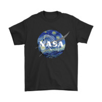 NASA Logo Vincent Van Gogh Shirts