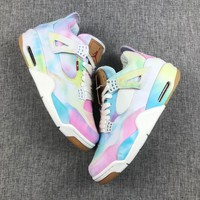 Levis x Air Jordan 4 Retro Multi Color Sneaker - Best Deal Online