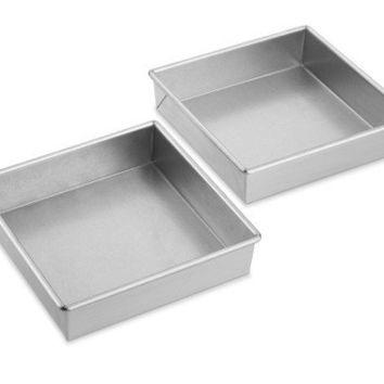 Williams-Sonoma Traditional Finish Square Cake Pans