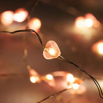 Heart String Lights - Urban Outfitters