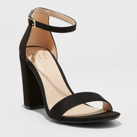 Women's Ema High Block Heel Pumps - A New Day™