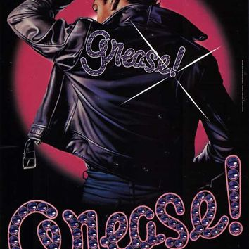 Grease 27x40 Broadway Show Poster (1972)